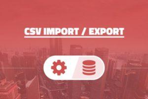 AIT – CSV Import / Export