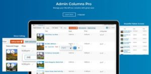 Admin Columns Pro Core WordPress Plugin – Manage columns...