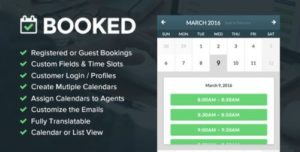 Booked – Appointment Booking for WordPress