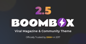BoomBox – Viral Magazine WordPress Theme