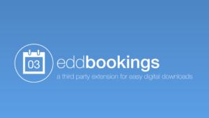 Easy Digital Downloads – Bookings