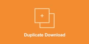 Easy Digital Downloads – Duplicate Downloads