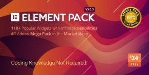 Element Pack – Addon for Elementor Page Builder WordPress...