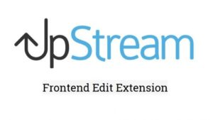 UpStream – Frontend Edit
