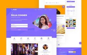 MyThemeShop – Purple