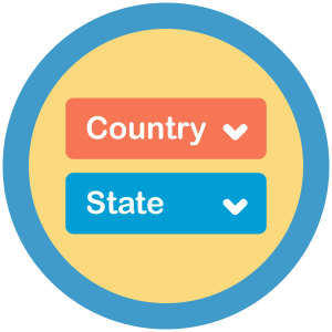 Paid Memberships Pro – State Dropdowns Add On