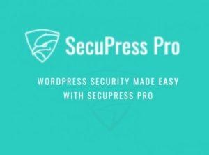 SecuPress Pro – WordPress Security