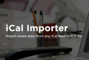 The Events Calendar: iCal Importer