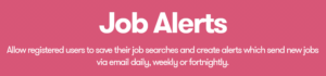 WP Job Manager – Alerts