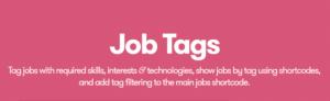 WP Job Manager – Job Tags