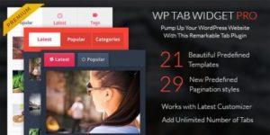 MyThemeShop – WP Tab Widget Pro