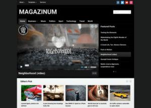 WPZOOM – Magazinum