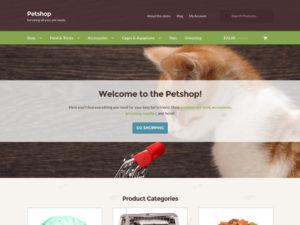 Storefront – Petshop