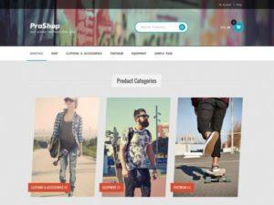 Storefront – ProShop