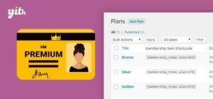 YITH – WooCommerce Membership Premium