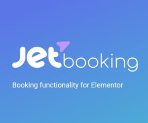 JetBooking – Booking functionality for Elementor