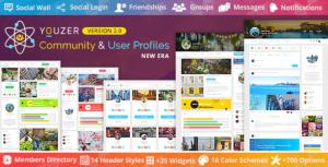Youzify (formerly Youzer) – BuddyPress Community & WordPress User...